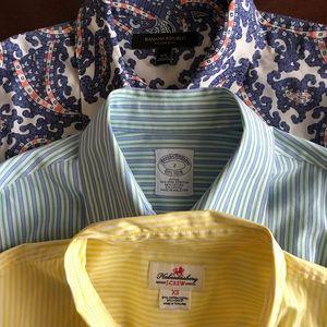 XS womens Button Down Shirt Lot 3